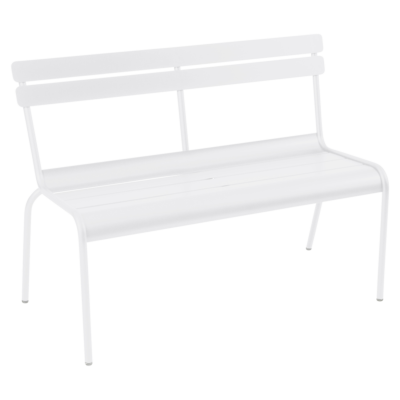 Fermob Luxembourg Bench with Backrest Cactus