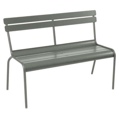 Fermob Luxembourg Bench with Backrest Roseamry