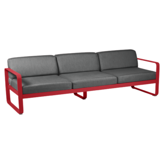 Bellevie 3 Seat Sofa Poppy