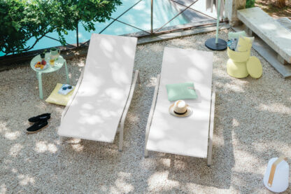 Fermob Alize Sun Lounger Clay Grey